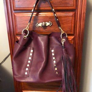 Like New!! Steve Madden burgundy hobo handbag